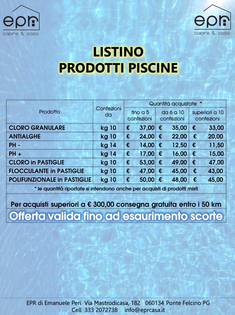 Prodotti Piscine